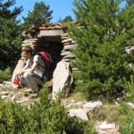 Aixopluc al serrat de Pratprimer (Alt Urgell, Països Catalans)