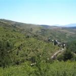 Vila-rubla des de prop de Biscarbó (Alt Urgell, Països Catalans)