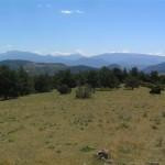 Vistes des del serrat de Gatnau (Alt Urgell, Països Catalans)