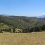 Biscarbó i Vila-rubla des del coll de Gatnau (Alt Urgell, Països Catalans)
